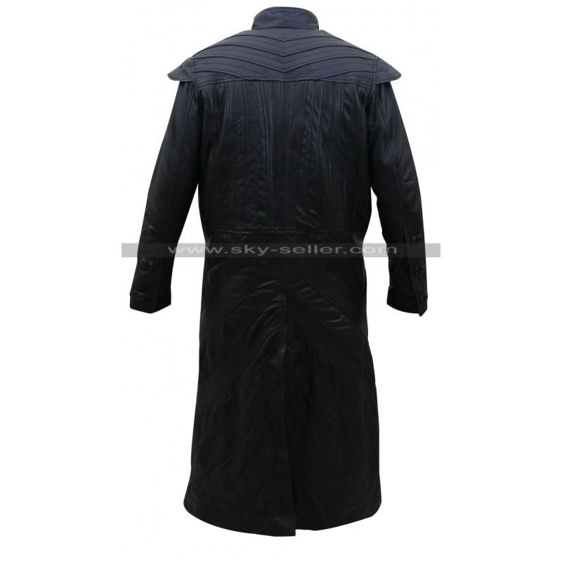 551b5a25d244 Black Sails S3 Pirate Captain Flint Costume Leather Coat