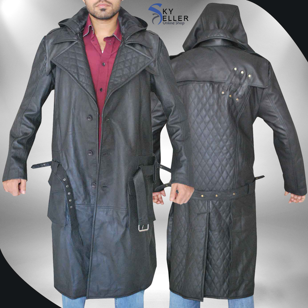 Jacob Frye Assassin's Creed Syndicate Leather Coat
