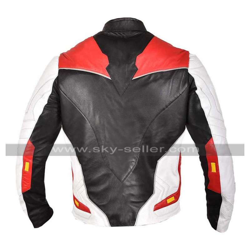 c343fb63c Mens Avengers Endgame Costume Quantum Realm Leather Jacket / Pants