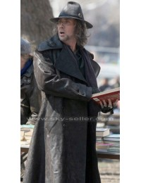 Balthazar Blake Sorcerer's Apprentice Leather Trench Coat