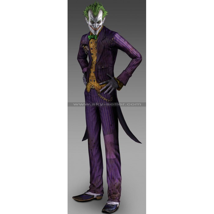 Batman Arkham City Joker (Arkhamverse) Cosplay Costume