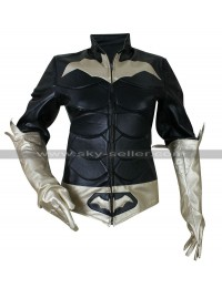 Batman Arkham Knight Batgirl Costume Leather Jacket