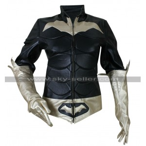 Batman Arkham Knight Batgirl Costume Leather Jacket