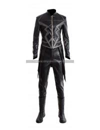Inhumans Black Bolt (Anson Mount) Black Leather Costume