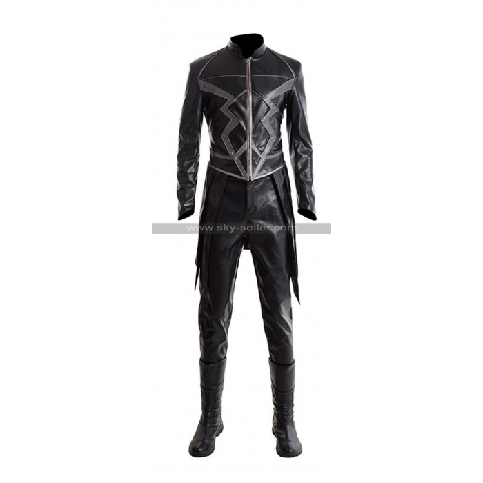 Inhumans Black Bolt (Anson Mount) Black Leather Costume