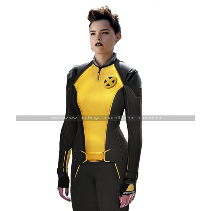 Deadpool 2 Negasonic Teenage Warhead Costume Leather Jacket