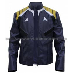 Chris Pine Star Trek Beyond Blue Costume Jacket