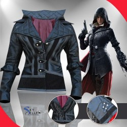 Assassin's Creed Syndicate Evie Frye Leather Costume
