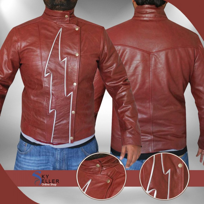 The Flash Season 2 Jay Garrick New Costume Jacket