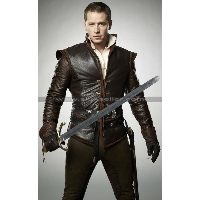 John Dallas Once Upon Time Prince Charming Leather Jacket