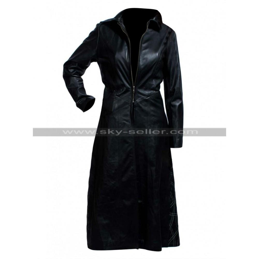 Kate Beckinsale Underworld Selene Black Leather Costume