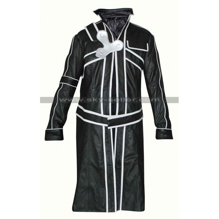 Kirito Sword Art Online Cosplay Costume Trench Coat