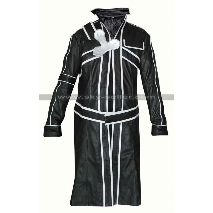 Kirito Sword Art Online Cosplay Costume Trench Coat
