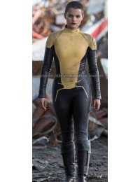 Negasonic Teenage Warhead Deadpool Yellow Costume Jacket