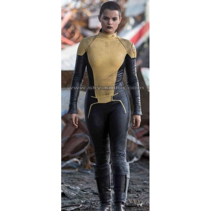 Negasonic Teenage Warhead Deadpool Yellow Costume Jacket