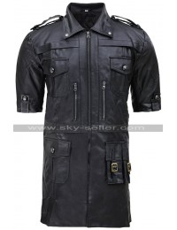 Noctis Lucis Caelum Final Fantasy 15 Black Leather Jacket