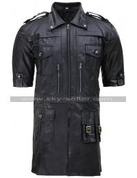 Noctis Lucis Caelum Final Fantasy XV Black Leather Jacket