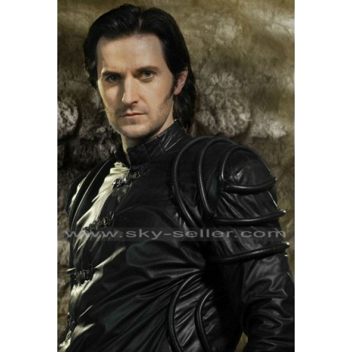 Richard Armitage Robin Hood Guy Gisbourne Black Jacket