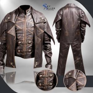 Cad Bane Star Wars Clone Wars Leather Costume