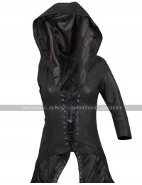 Sweet Pea Sucker Punch Costume Leather Coat