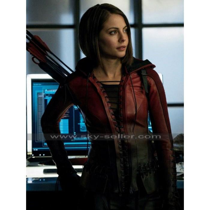 Thea Queen Arrow S4 Willa Holland Costume Jacket