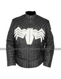 Venom Tom Hardy (Eddie Brock) Costume Black Leather Jacket