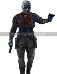 Arrow The Recruits Wild Dog (Rene Ramirez) Leather Costume Jacket