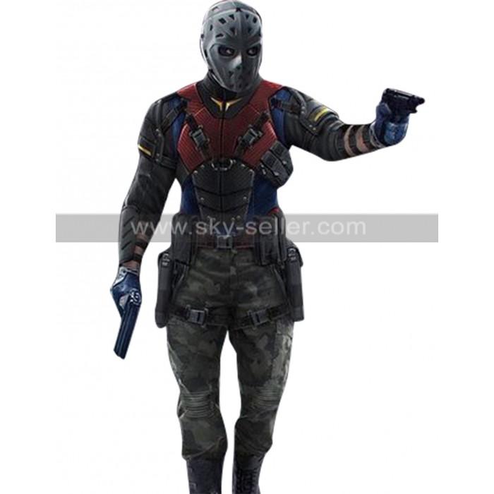 Arrow The Recruits Wild Dog (Rene Ramirez) Leather Costume Jacket