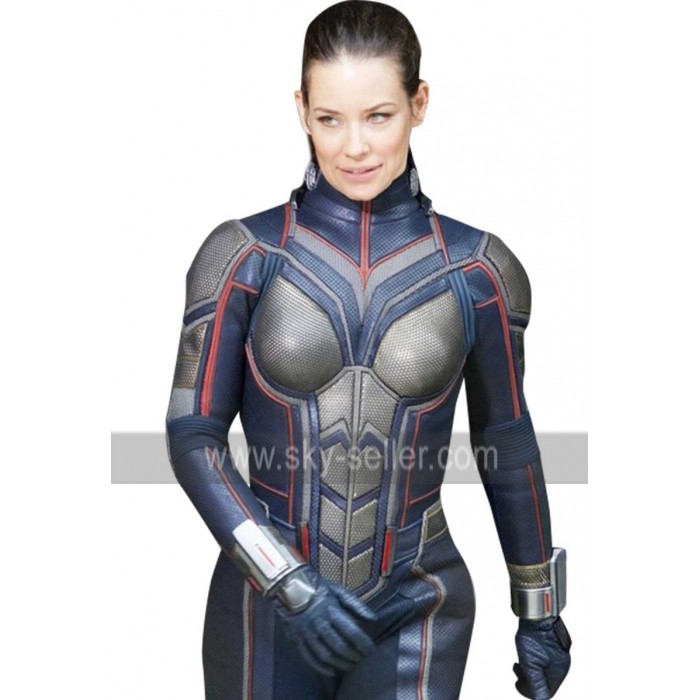 Ant-Man And The Wasp Hope Van Dyne (Evangeline Lilly) Leather Jacket