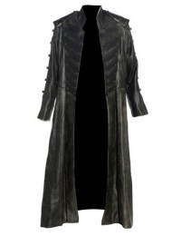 Stargate Atlantis The Wraith Cosplay Costume Black Long Coat