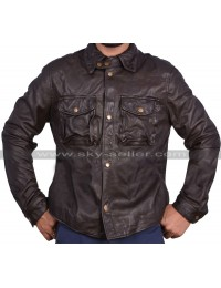 Addicted William Levy Moto Leather Jacket