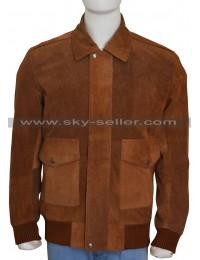 American Ultra Jesse Eisenberg (Mike Howell) Brown Jacket