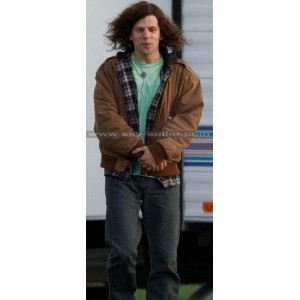 American Ultra Jesse Eisenberg (Mike Howell) Brown Jacket