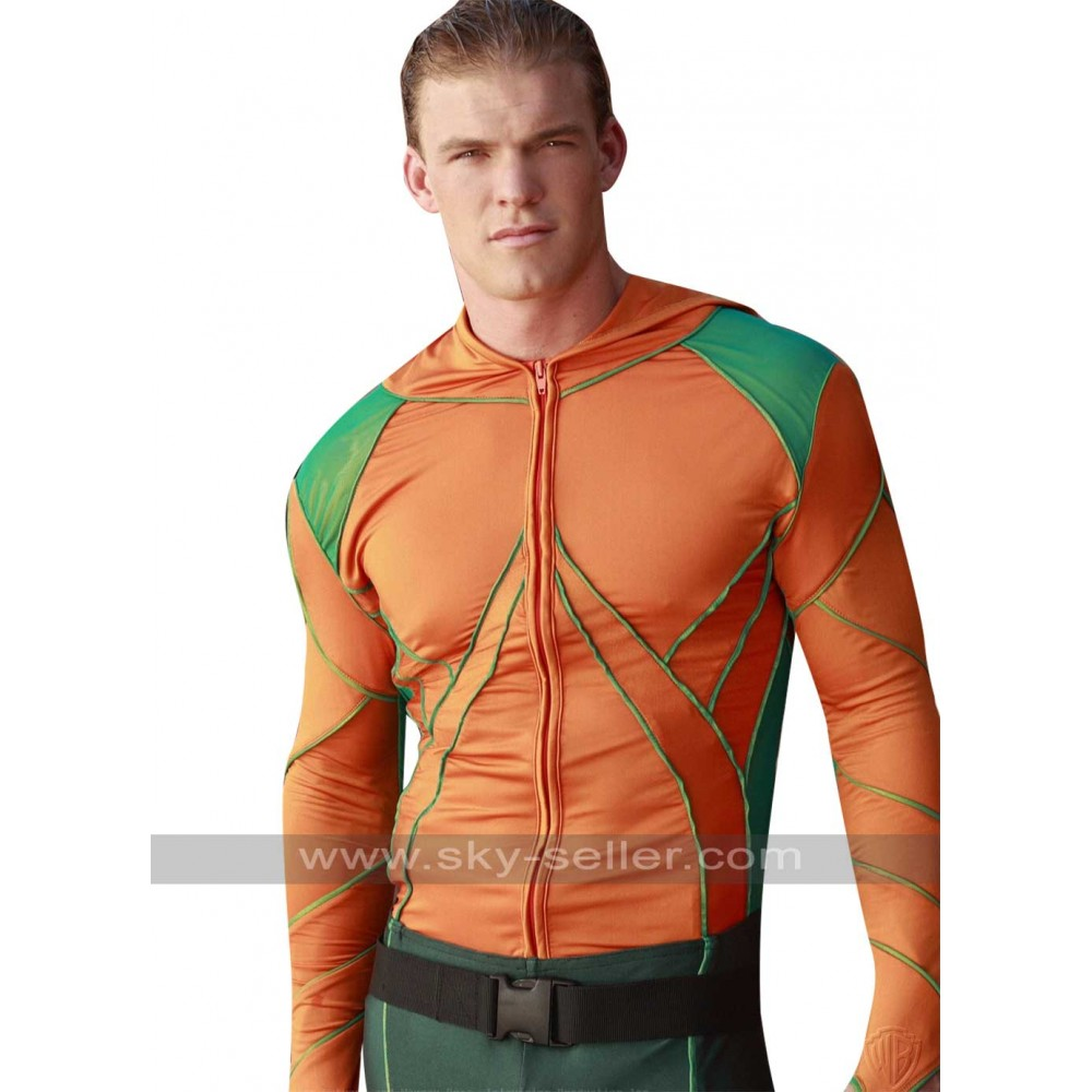 Aquaman Smallville Arthur Curry Leather Jacket