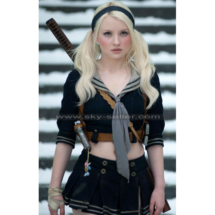 Baby Doll Sucker Punch Emily Browning Leather Jacket