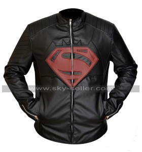 Batman v Superman Black Leather Jacket