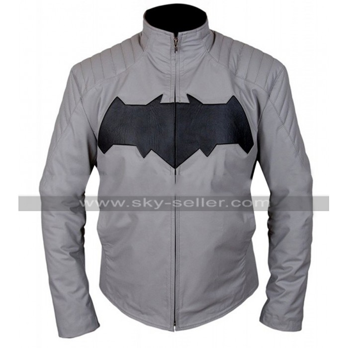 Bruce Wayne Batman v Superman Dawn of Justice Ben Grey Jacket