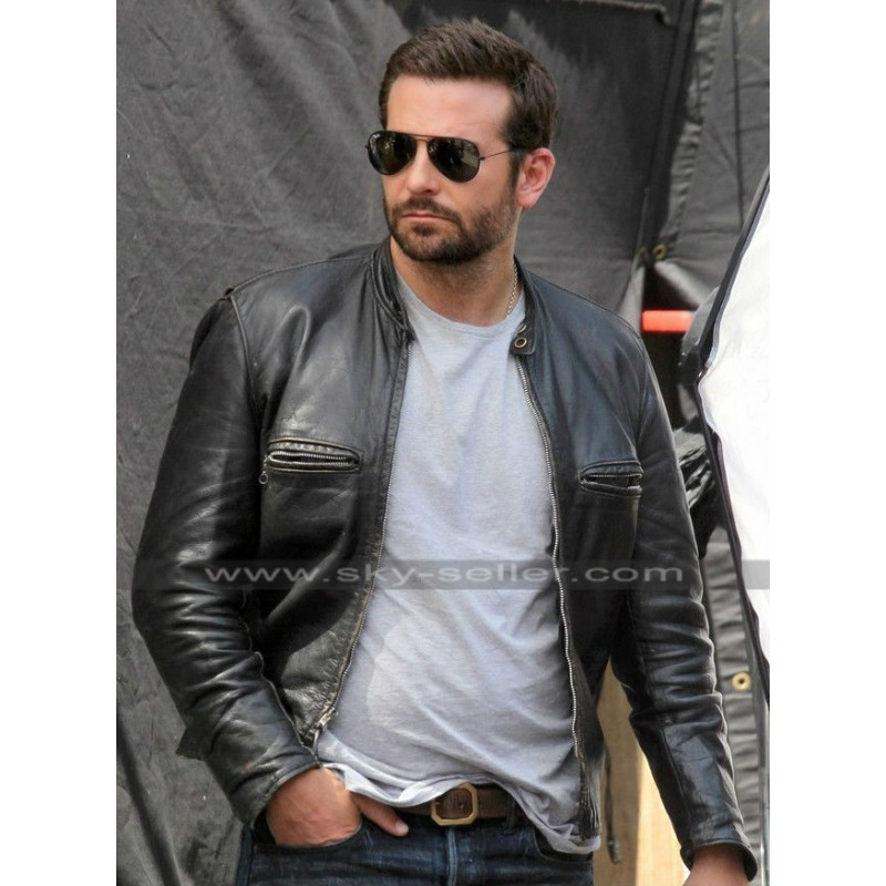 Burnt Bradley Cooper Adam Jones Black Biker Jacket