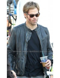 Horrible Bosses 2 Chris Pine (Rex Hanson) Black Jacket