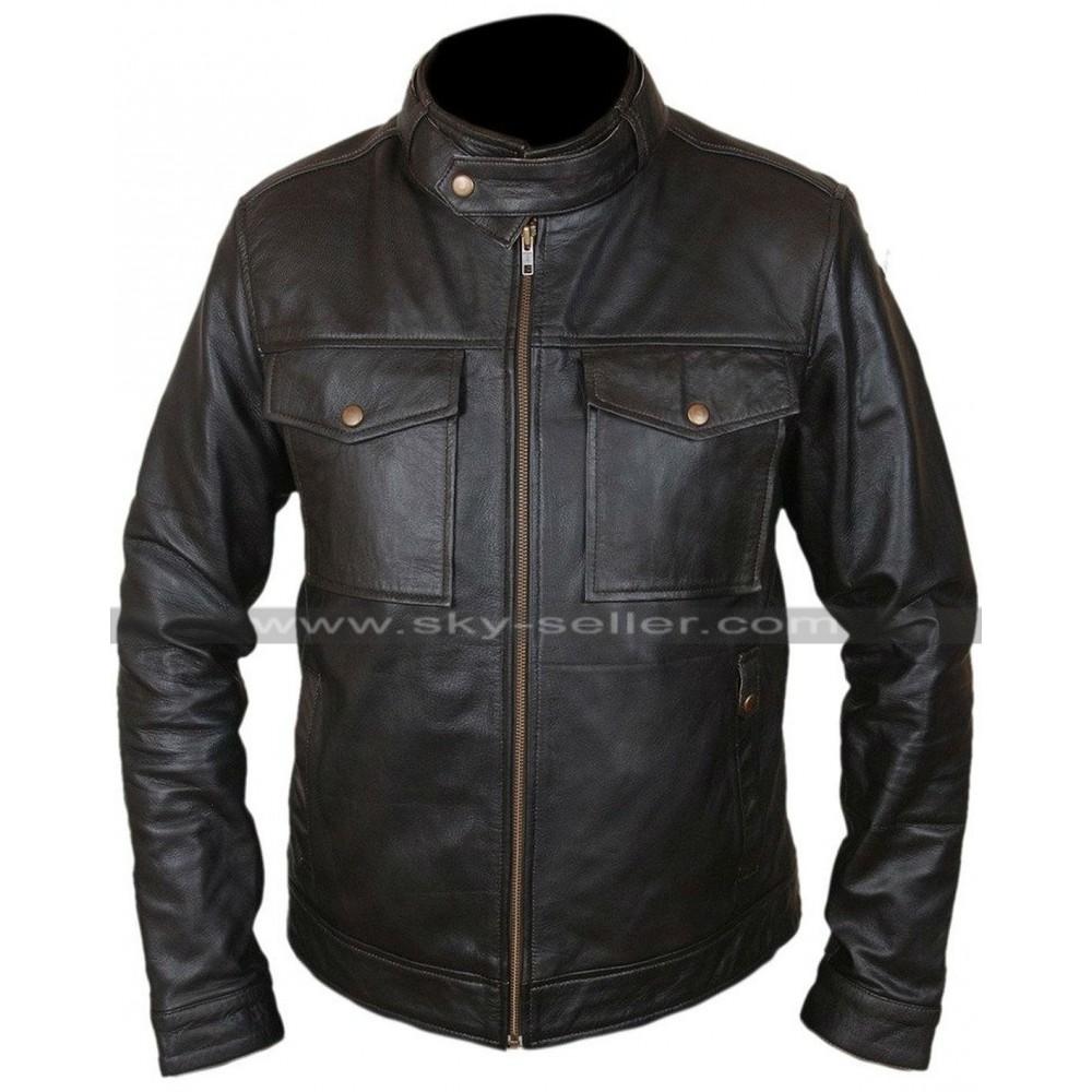 Sebastian Stan Civil War Winter Soldier Hoodie Jacket