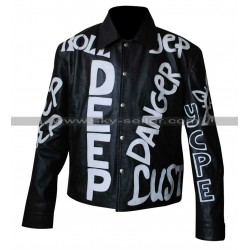 Cool as Vanilla Ice Johnny Motorcycle Leather Jacket