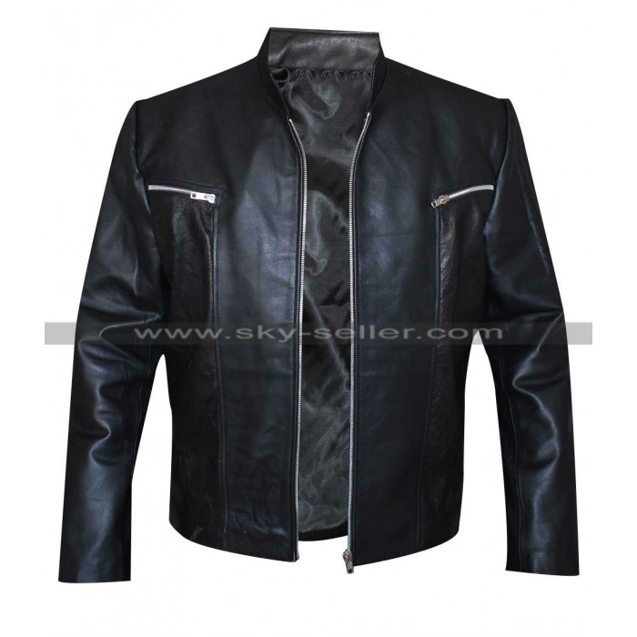 David Hewlett Stargate Atlantis Rodney Mckay Black Jacket