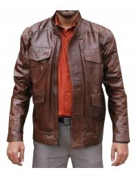 Day Break Taye Diggs (Brett Hopper) Brown Jacket