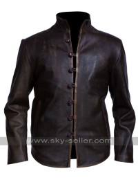 Demons Leonardo da Vinci Brown Distressed Jacket
