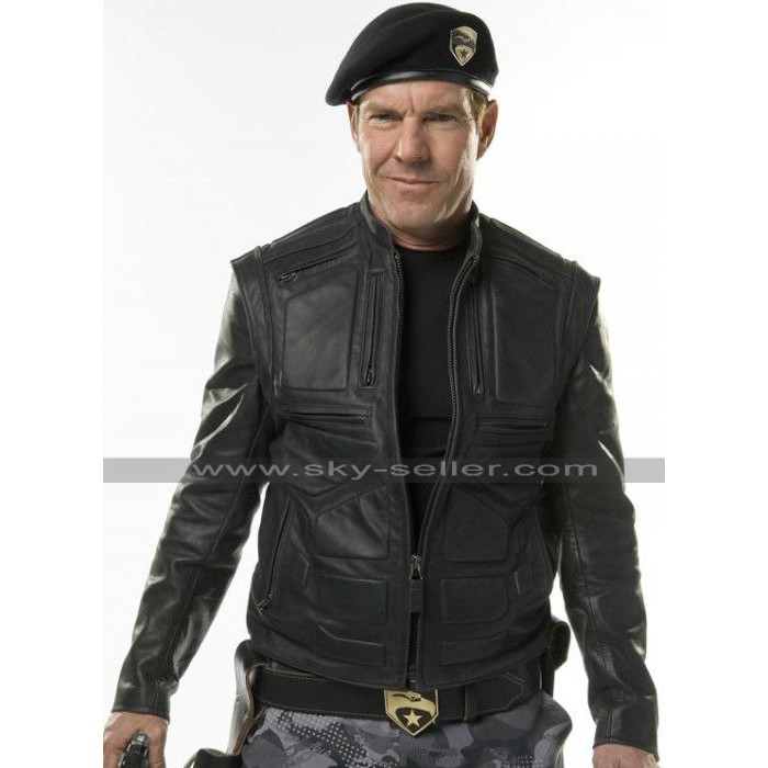G.I Joe Rise of Cobra General Hawk Leather Jacket