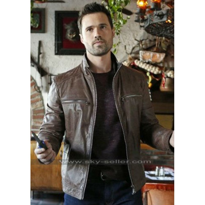 Grant Ward Agents of Shield Brett Dalton Brown Jacket