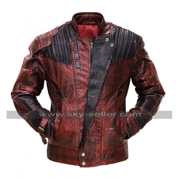 Guardians of the Galaxy 2 Avengers Starlord Never Seen Before Distressed Jacket