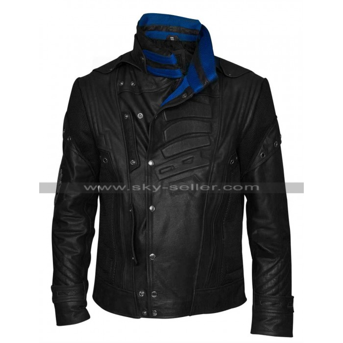 Guardians of the Galaxy 2 Starlord (Peter Quill) Leather Jacket