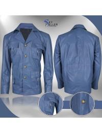 Russell Crowe Nice Guys Jackson Healy Blue Jacket