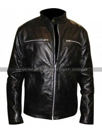 Kevin Bacon RIPD Bobby Hayes Black Leather Jacket